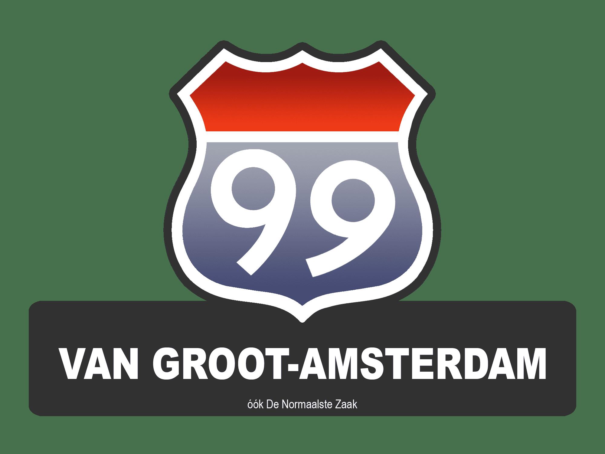 Logo De 99 van Groot-Amsterdam